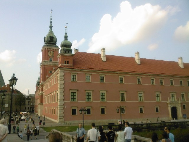 Castle in the old town, Warsaw